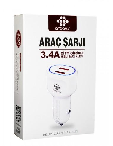 Arbaks ARB-070 Çift Giriş Oto Hızlı...