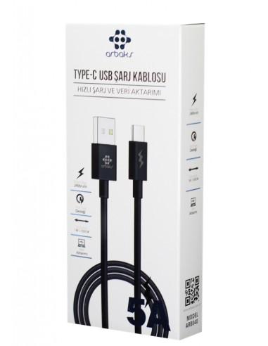 Arbaks ARB-040 Type-C USB Hızlı Şarj...