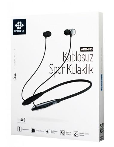 Arbaks ARB-703 Kablosuz Spor Kulaklık...