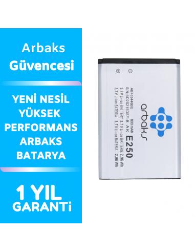 Arbaks Samsung E250 Batarya AB-463446BU