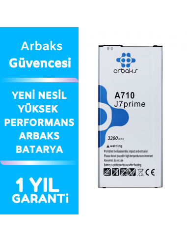 Arbaks Samsung Galaxy A710 Batarya A7...