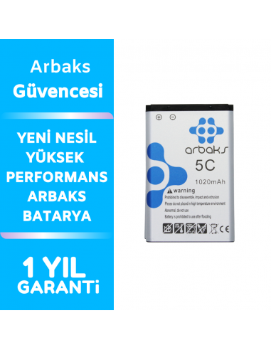 Arbaks Nokia BL-5C Batarya