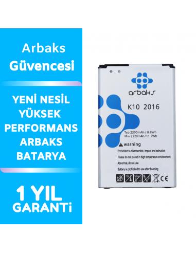 Arbaks LG K10 2016 Batarya BL-45A1H