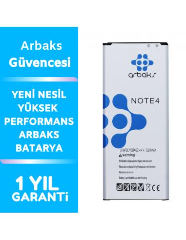 Arbaks Samsung Galaxy Note 4 Batarya...