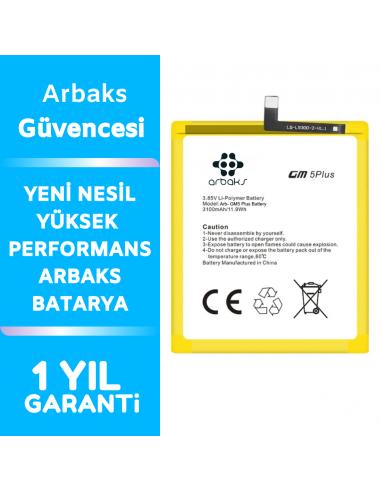 Arbaks General Mobile GM5 Plus Batarya